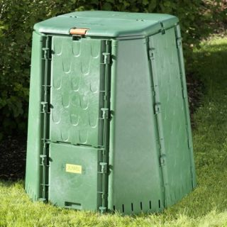 AeroQuick 187 Gallon Recycled Plastic Compost Bin: Gardening & Lawn Care