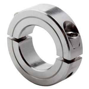 Climax 1/4 inch bore T303 Stainless Steel Clamp Collar 2C 025 S