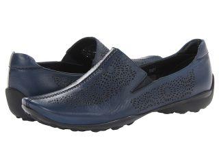 Sesto Meucci Uriana Womens Slip on Shoes (Navy)
