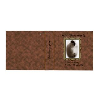 Wedding Photography Portfolio Binder