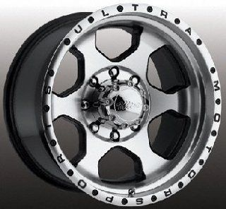 Ultra Rogue 18 Machined Black Wheel / Rim 5x150 with a 35mm Offset and a 110 Hub Bore. Partnumber 175 8850U: Automotive