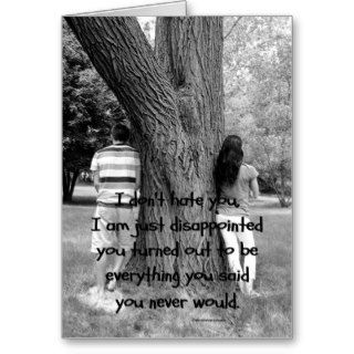 Troubled Relationship Quote Cards