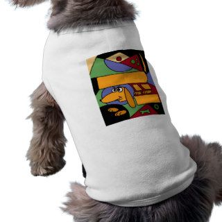 XX  Funny Abstract Art Dachshund Dog Clothes
