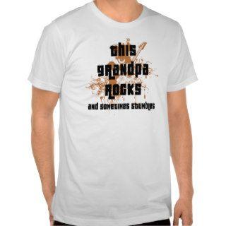 Funny Grandpa Rocks and Stumbles T Shirt