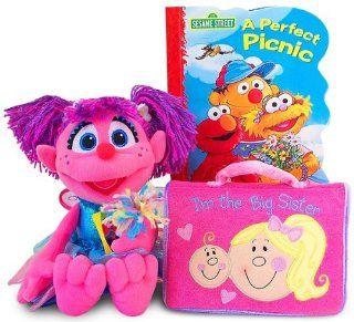 "Sesame Street Abby Cadabby ""I'm The Big Sister"" Gift Set  Plush Animal Toys  Baby"