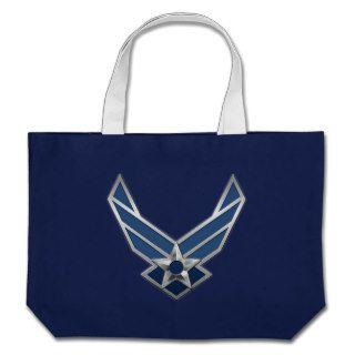 [400] U.S. Air Force (USAF) Logo Canvas Bag