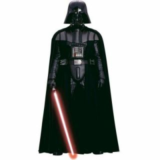 RoomMates Star Wars Classic Vader Peel and Stick Giant Wall Decal RMK1589SLG