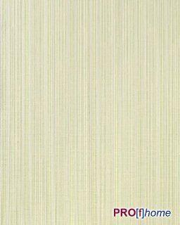 EDEM 159 25 Design Streifen Tapete hell grün lemon grün creme dezente silber glitter Küche & Haushalt