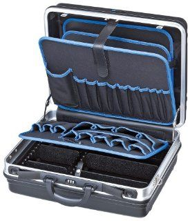 """Knipex 00 21 05 LE Werkzeugkoffer """"Basic"""" leer, Belastbar bis 15 Kg, Maße Innen 440 x 180 x 350 mm Baumarkt"""