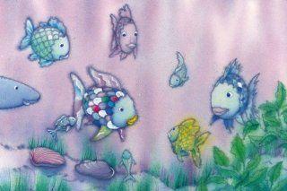 Fische   Der Regenbogenfisch I, 1 Teilig Fototapete Poster Tapete (175 x 115cm) Küche & Haushalt