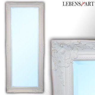 BAROCKER WANDSPIEGEL Elfa WEISS 180x70cm SPIEGEL 007 7W ANTIK DESIGN 8cm breiter Rahmen: Küche & Haushalt