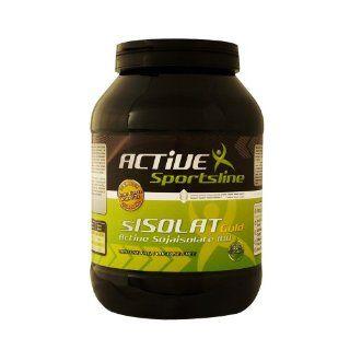 BB Genics sISOLATE GOLD   (Soja  Protein ISOLAT), Vanille, 2x 1000g Dosen, ADE BAS PR SI201 Lebensmittel & Getränke