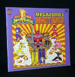 Mighty Morphin Power Rangers: Megazord's Mighty Mazes: 9781561444694: Books