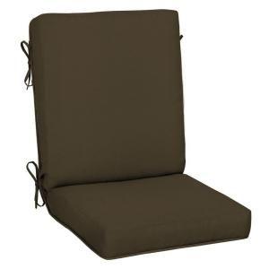 Hampton Bay Java Texture Quick Dry High Back Outdoor Chair Cushion FC01212A 9D1