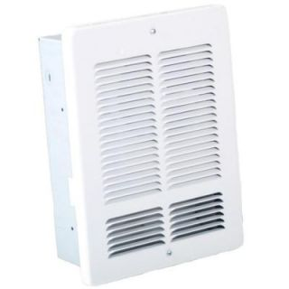 13.5 in. 2000 Watt 240 Volt Fan Forced Electric Wall Heater with Built in Thermostat H1004