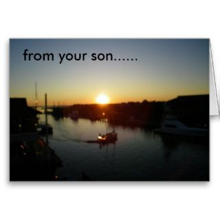 FROM YOUR SON     HAPPY BIRTHDAY DAD CARDS