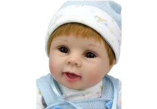 So Truly Real Baby Dolls Cheap Lovely Toy Kids Gift 22inch Doll Handmade: Toys & Games