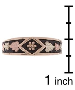 Black Hills Gold Ladies Antiqued Band Black Hills Gold Black Hills Gold Rings