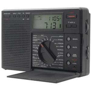 Eton Grundig Traveler II AM/FM/Shortwave Radio with World Time and ATS TRAVELERIIG8