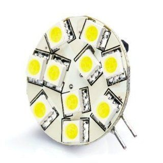 Brightech   G4 Base 12V LED Light Bulb Replacement   Warm White Color   Disc Type Side Pin 10 Watt Halogen Replacement for RV Campers, Trailers, Boats, and Under cabinet Lights. Warm White Light for Best Ambience and Conformt Automotive
