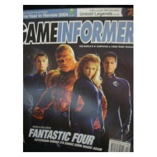 GAMEINFORMER MAGAZINE (February 2005   Issue 142) Featuring FANTASTIC FOUR Andrew McNamara Books