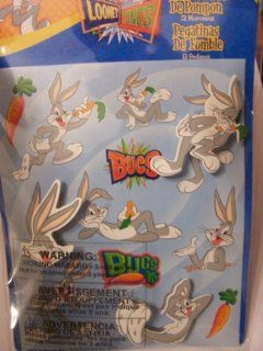 Looney Tunes Bobble Stickers ~ Bugs Bunny (12 Pieces) Toys & Games