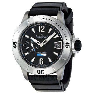 Jaeger LeCoultre Master Compressor Black Dial GMT Mens Watch Q187T670 Jaeger LeCoultre Watches