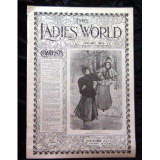 The Ladies World January 1896 Magazine Vol XVII Number 1 Whole number 193 (Vol XVII Number 1 Whole number 193): Warren B Davis: Books