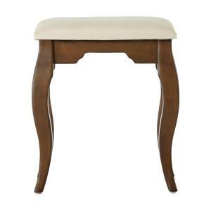 Home Decorators Collection Emilees 17 in. W Heritage Oak Vanity Bench 1238900950