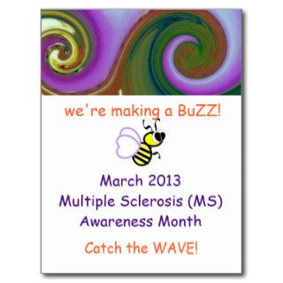 Multiple Sclerosis Awareness Postcard 2013