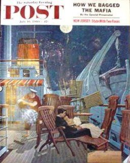 Saturday Evening Post July 16 1960 Vol 233 No 3   True Firsts   The Secret of Sidwinder Gulch (third of seven parts) by Clarence Budington Kelland; The Case of the Duplicate Daughter (seventh of eight parts) Erle Stanley Gardner: Clarence Budington Kelland