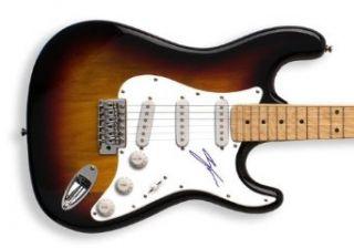 Enrique Iglesias Autographed Signed Guitar & Proof GAI Dual Cert: Enrique Iglesias: Entertainment Collectibles