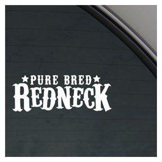 Pure Bred Redneck Decal Car Truck Window Sticker Automotive