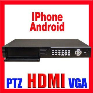 Professional 16 Channel H.264 Standalone DVR for Security Camera CCTV DVR System: Support iPhone, Andriod, & Blackberry. HDMI & VGA. Real Time Video/Audio Recording, Playback and Network capability. Built In Motion Detection Recording Function with