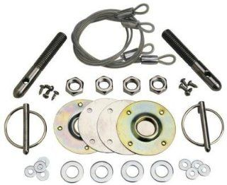 Ford Racing Hot Rod Rat Gasser Muscle Car Stainless Torsion Hood Latch Pin Kit: Automotive