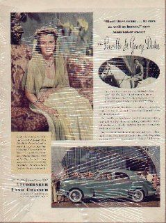 Mrs. Priscilla St. George Duke of New York and Tuxedo Park 1941 Studebaker Land Cruiser ad, A0368A  Other Products