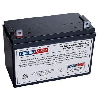 Exide EP 100 12 12V 100Ah Replacement Battery: Electronics