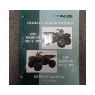 2001 Polaris Magnum 325 500 HDS Service Repair Shop Manual FACTORY OEM BOOK 01 polaris Books
