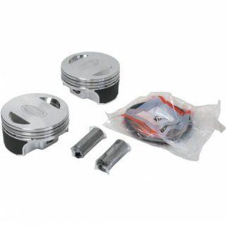 Revolution Performance Big Bore Piston Kit (90in. Flat Top)   Bore 3.875in.   Stroke 4in.   10.51 Compression 301 518W Automotive