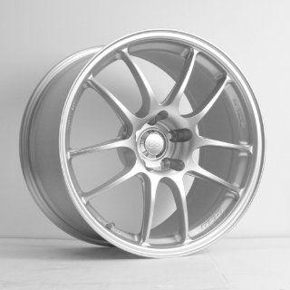 "Enkei PF01  Racing Series Wheel, Silver (18x8""   5x110, 40mm Offset) One Wheel/Rim Automotive"