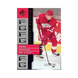 2002 03 SP Authentic #115 Pavel Datsyuk FG/2003: Sports Collectibles