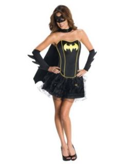 Batgirl Adult Costume Lg Adult Womens Costume: Clothing