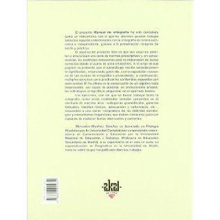 Manual De Ortografia/ Orthography Guide (Materiales De Lengua) (Spanish Edition) M. Martinez Sanchez 9788446015642 Books