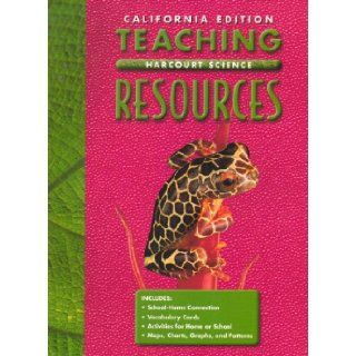 California Edition Teaching Resources (Harcourt Science) Grade 5 9780153176890 Books