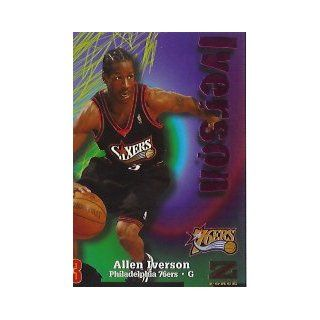 1997 98 Z Force Rave #150 Allen Iverson/399 at 's Sports Collectibles Store