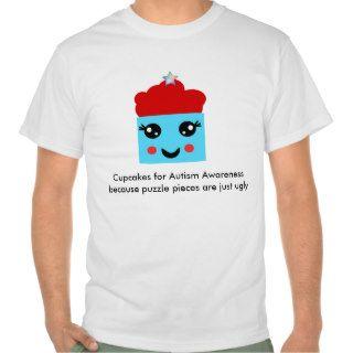 Kawaii Cupcakes for Autism Awareness Tshirt