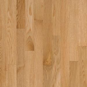 Bruce Natural Reflections Natural Oak Solid Hardwood Flooring   5 in. x 7 in. Take Home Sample BR 667229