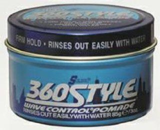 S Curl 360 Style Wave Control Pomade   Case Pack 12 SKU PAS816354   Bathroom Accessories