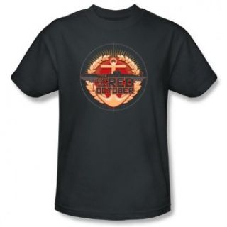 Hunt For Red October ONE PING ONLY Short Sleeve Adult Tee CHARCOAL T Shirt Clothing