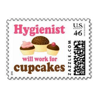 Funny Chocolate Cupcakes Dental Hygienist Postage